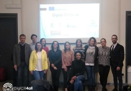 KICK-OFF MEETING DI PROGETTO IN ITALIA