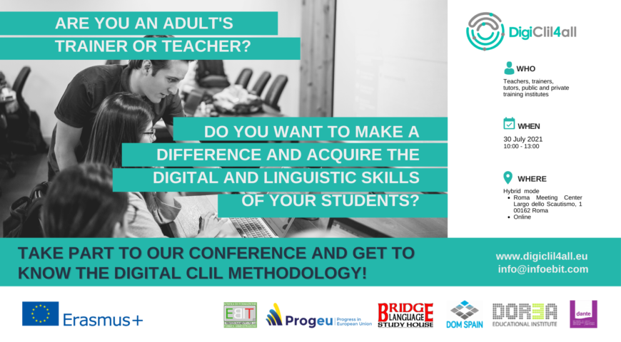 DIGITAL CLIL 4 ALL: Final conference